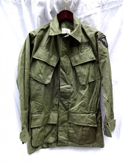4th Jungle Fatigue Jacket Dead stock XS-REGULAR/6