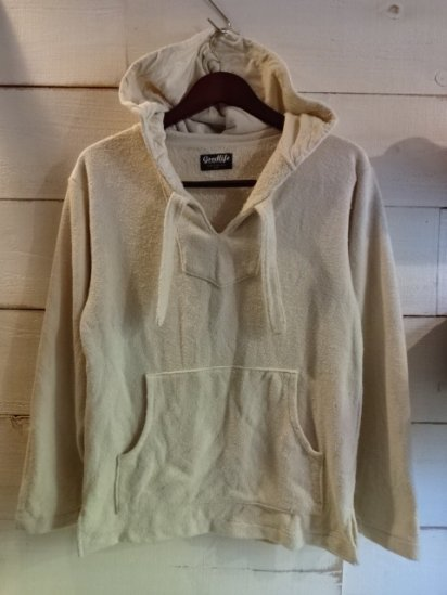 Goodlife Pile Pullover Hoody Made in U.S.A<BR>SALE! 9,800 + Tax → 5,880 + Tax