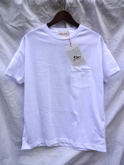 Vincent et Mireille  Big Tee Made in France White