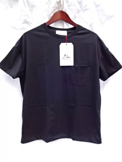 Vincent et Mireille  Big Tee Made in France Black