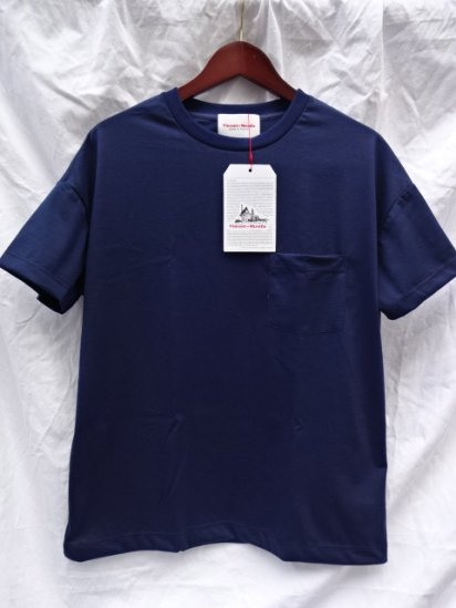Vincent et Mireille  Big Tee Made in France Navy