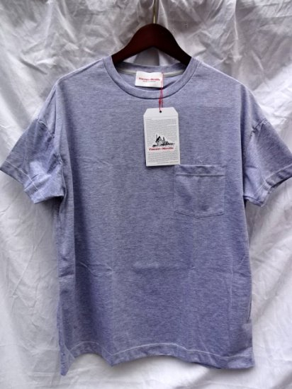 Vincent et Mireille  Big Tee Made in France Gray