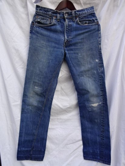 70's Vintage LEVI'S 505 Single Good Repaired