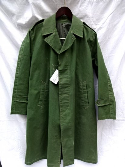 40's 〜 Vintage Military Rubberised Coat