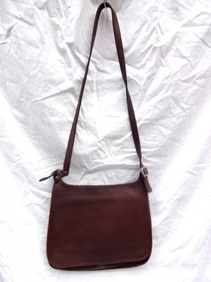 Old COACH Leather Bag Made in Costarica