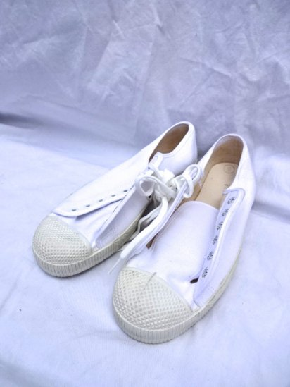 〜90's Vintage DAED STOCK British Military PT Shoes MADE IN ENGLAND 5