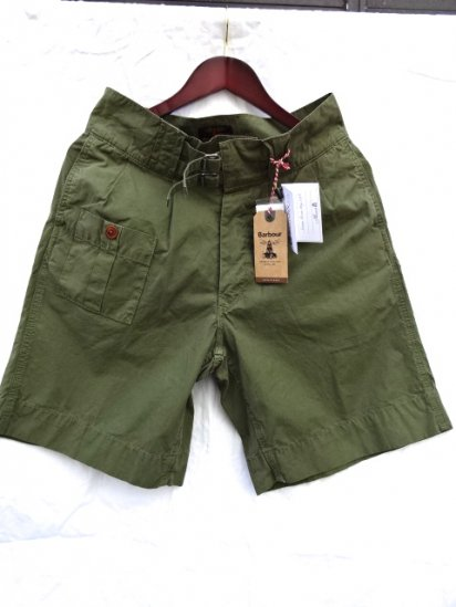 Barbour Beacon Brand Heritage Range Empire Shors Olive