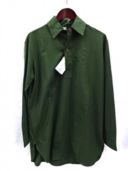 60's〜70's Vintage Dead Stock Swedish Army Pullover Shirts /1