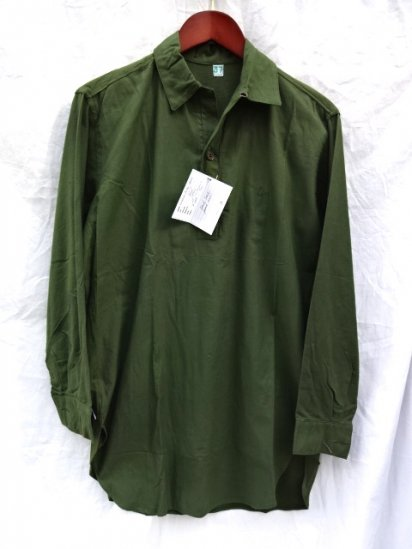 60's〜70's Vintage Dead Stock Swedish Army Pullover Shirts /2