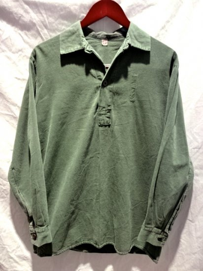 60's〜70's Vintage Used Swedish Army Pullover Shirts /3