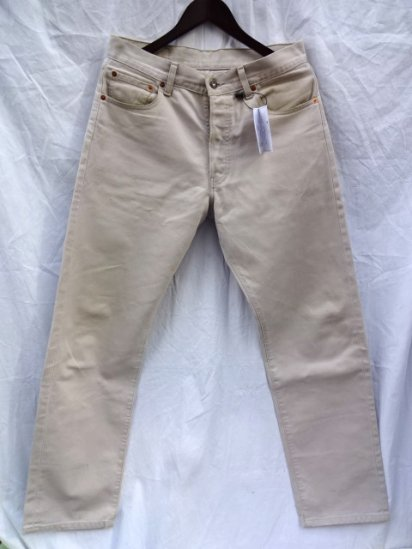 90's Levi's 517(Not Boot Cut) Straight Leg Pique Pants Made in Italy