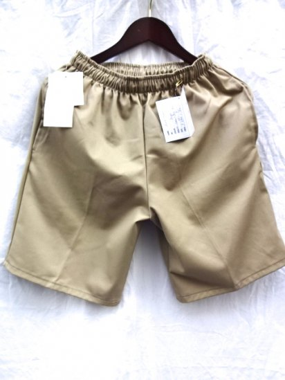 Erick Hunter Twill JAM Shorts Made in U.S.A Beige
