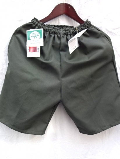 Erick Hunter Twill JAM Shorts Made in U.S.A Olive