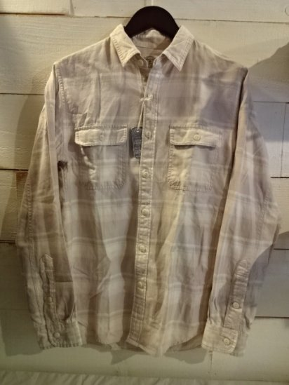 J.Crew SUN FADED Flannel Shirts<BR>SALE! 7,800 + Tax → 4,680 + Tax
