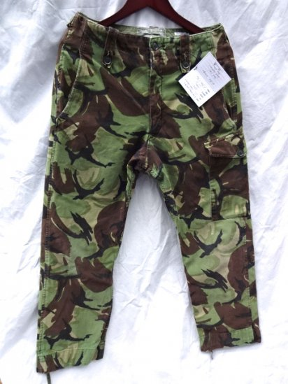 60-70's Vintage British Military Cadet Force Combat Trouserse / 1