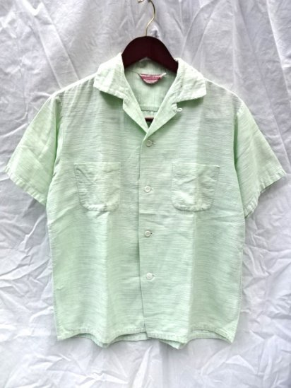 50's PENNY'S TOPFLIGHT Open Collar Shirts
