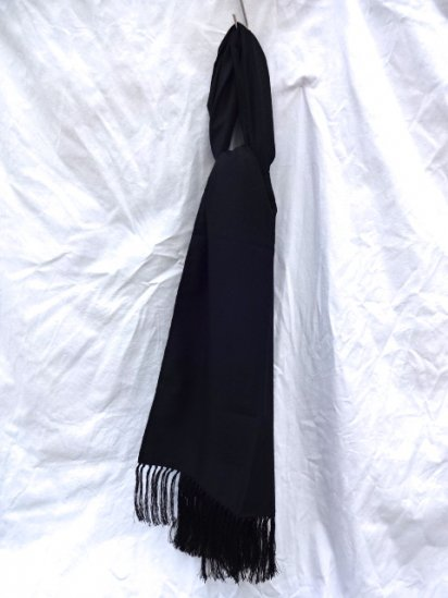DEAD STOCK SILK/WOOL STOLE MADE IN FRANCE