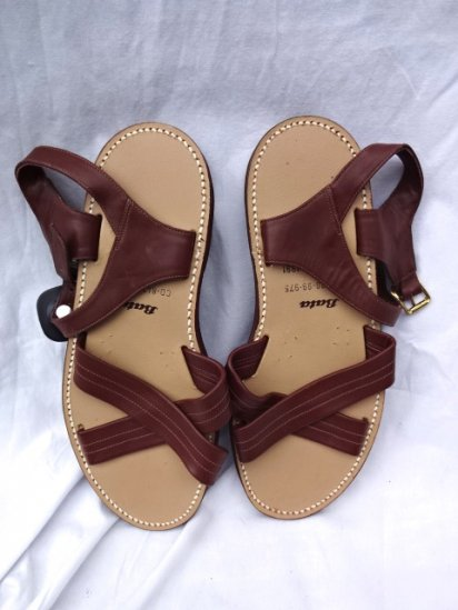 〜90's Vintage Dead Stock British Army Tropical Sandal by Bata Made in ENGLAND 10