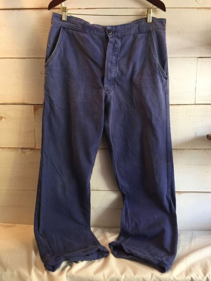80's Vintage French Work Pants
