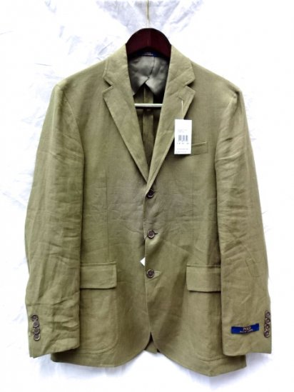 Ralph Lauren Linen 3B Jacket Made in Italy