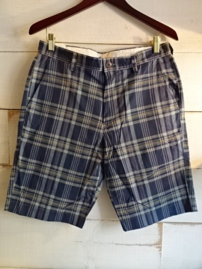 J.Crew Madras Check Shorts<BR>SALE!! 6,800 + Tax → 3,800+Tax