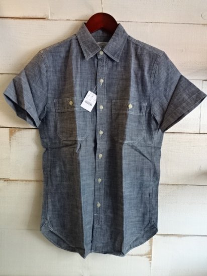 J.Crew Chambray S/S Work Shirts<BR>SPECIAL PRICE !! 3,800 + Tax