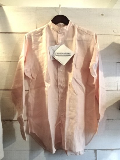 INDIVIDUALIZED SHIRTS Linen Mao collar SALE!