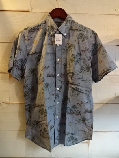 J.Crew S/S B.D Aloha Shirts<BR>SPECIAL PRICE !! 3,800 + Tax