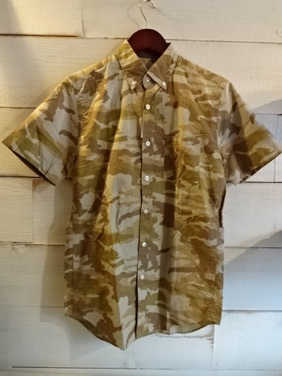 J.Crew S/S B.D Camouflage Shirts<BR>SPECIAL PRICE !! 3,800 + Tax