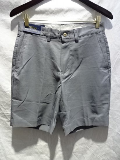 Ralph Lauren Stretch Shorts Gray