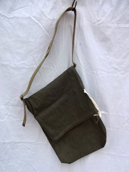 Remake Shoulder Bag  Made by 40-50's Vintage British Military Equipment/1