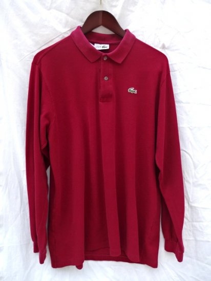 80's〜 Vintage Made in France Lacoste L/S Polo Shirts /18