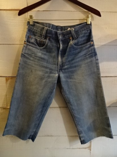 70-80's Vintage LEVI'S 505?517  Cutoff MADE IN U.S.A