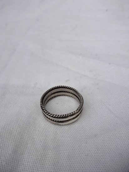 Navajo Tribe Sterling Silver Ring <BR> MADE IN U.S.A