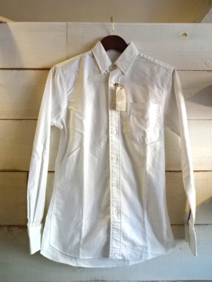NEW ENGLAND SHIRT COMPANY MADE IN U.S.A OXFORD White<BR>SALE! 17,800 + Tax → 7,800 + Tax