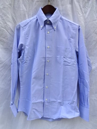 INDIVIDUALIZED SHIRTS Oxfored Shirts Standard Fit MADE IN U.S.A <BR>Sax