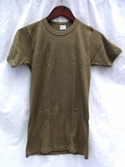 80's Dead Stock Dutch Army Tee Size 5