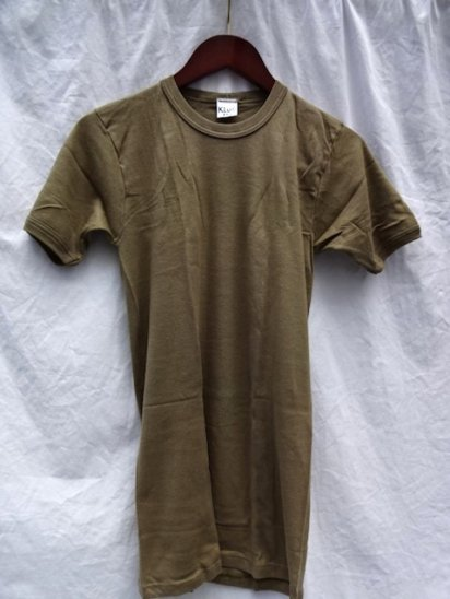 80's Dead Stock Dutch Army Tee Size 6