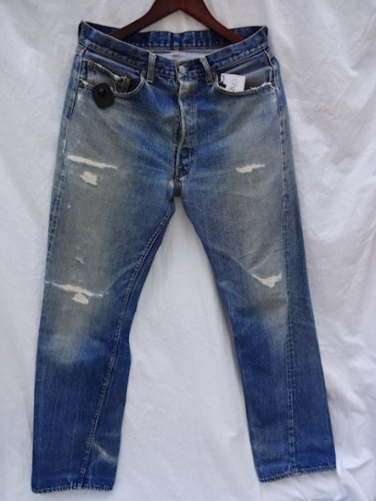 60's Vintage LEVI'S 501 66 BIG-E MADE IN USA