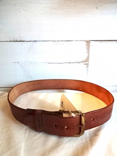 Arrow Moccasin Leather Belt MADE IN U.S.A/2