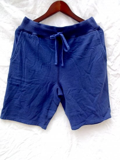 National Athletic Goods Made in Canada Sweat Shorts Navy