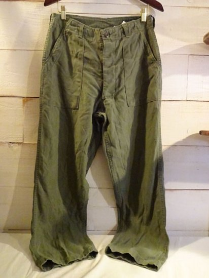 70's Vintage US Army Baker(Utility) Pants