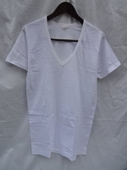 80's Vintage Dead Stock Fruit of the Loom Binder V-Neck Tee Made in U.S.A