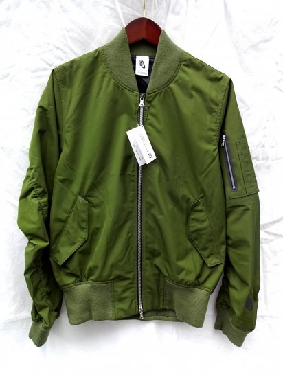 NIKE LAB Essentials Bomber Jacket Olive