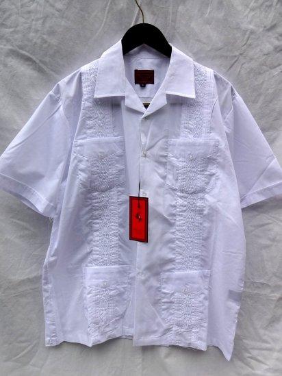MAXIMOS Mexico Cuba Shirts <BR>White
