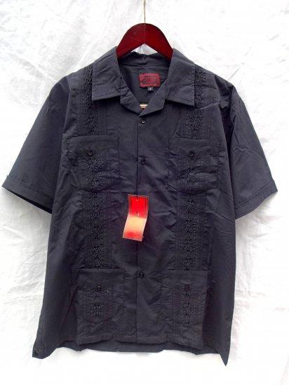 MAXIMOS Mexico Cuba Shirts <BR>Black