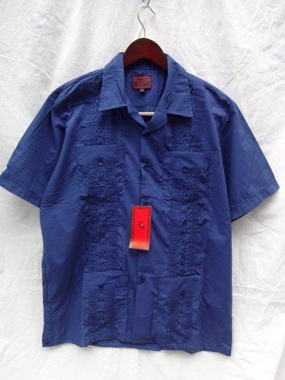 MAXIMOS Mexico Cuba Shirts <BR>Navy