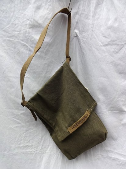 Remake Shoulder Bag  Made by 40-50's Vintage British Military Equipment/2