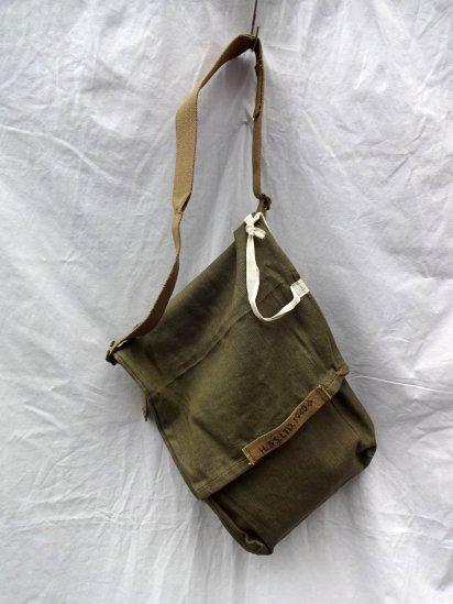Remake Shoulder Bag  Made by 40-50's Vintage British Military Equipment/3
