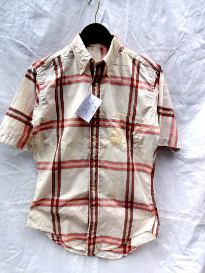 60's Vintage Oxford S/S Shirts